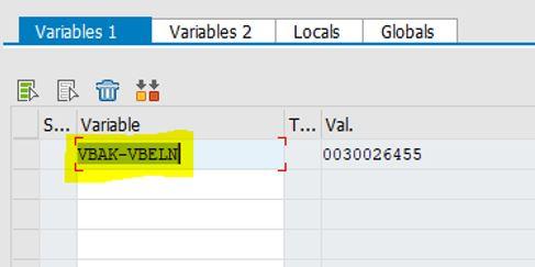 break-point variable